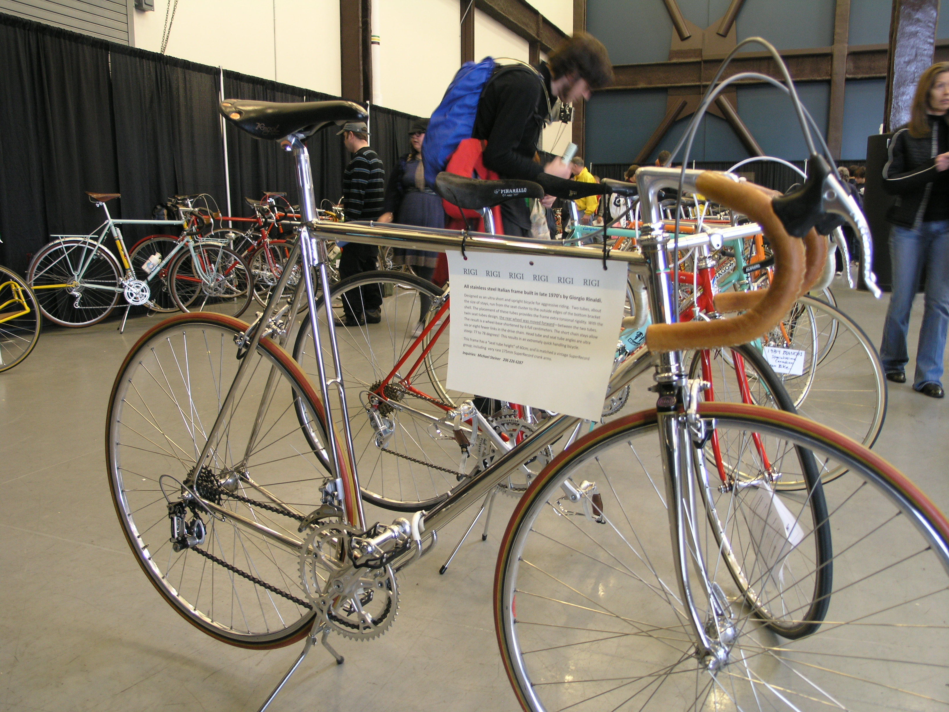 Seattle Bike Expo 2011 The Bicycle Story