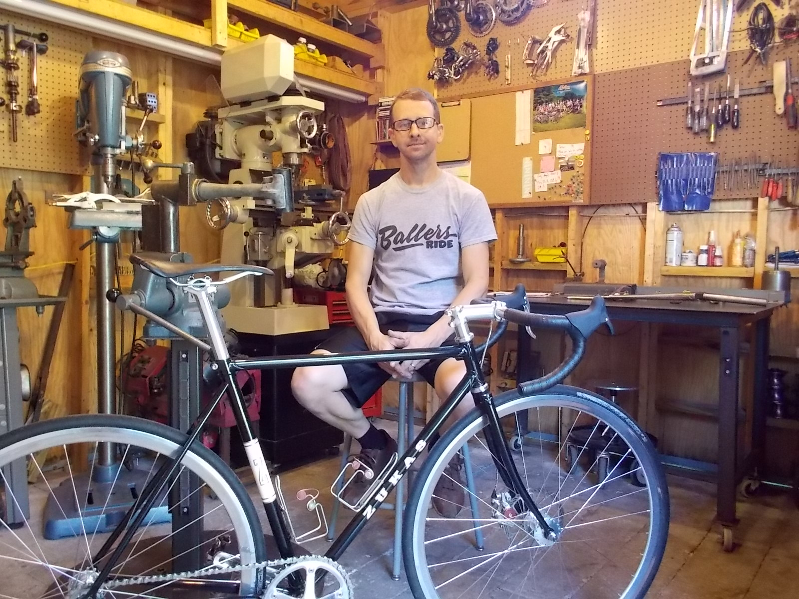 my first bike explores the origins of professional frame builders by going back to the start and looking at the first bike they built