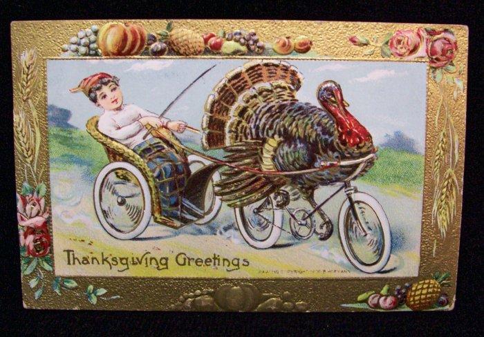 vintage-postcard-thanksgiving-turkey-bicycle-187