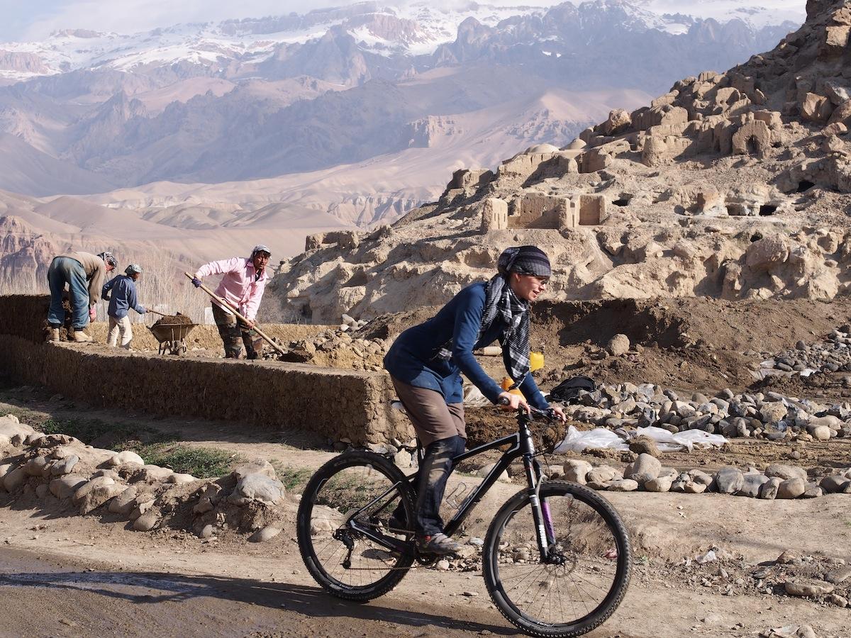 Shannon Galpin Mountain Biking Afghanistan